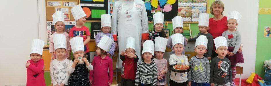 Poznajemy zawód kucharza z tatą Zosi